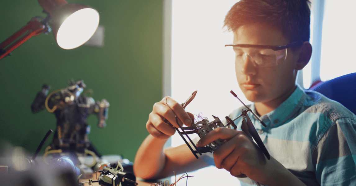 Physical computing for STEAM education