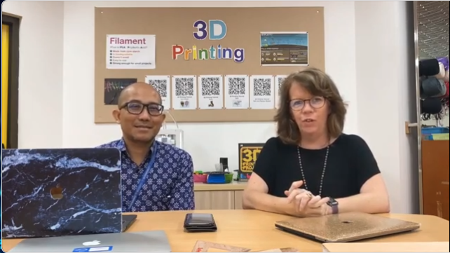 Utilising your school's maker space to leverage online learning