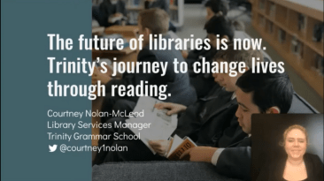The future of libraries is now. Trinity's journey to change lives through reading