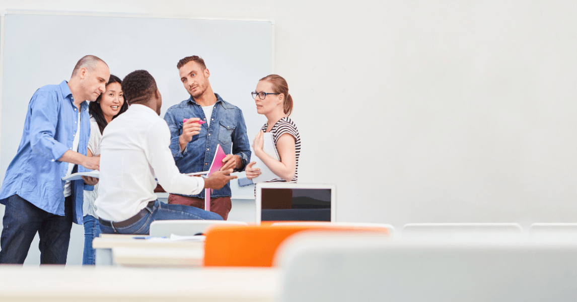 Overcoming generational tech divide through professional development
