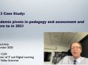 Pandemic pivots in pedagogy and assessment and where to in 2021?