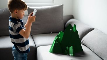 Application of AR in classroom teaching